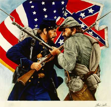 The Entire Civil War Conflict 1860 to 1865