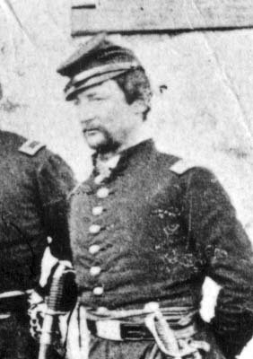 Capt Henry C. Coates during the Civil War circa 1860 to 1865