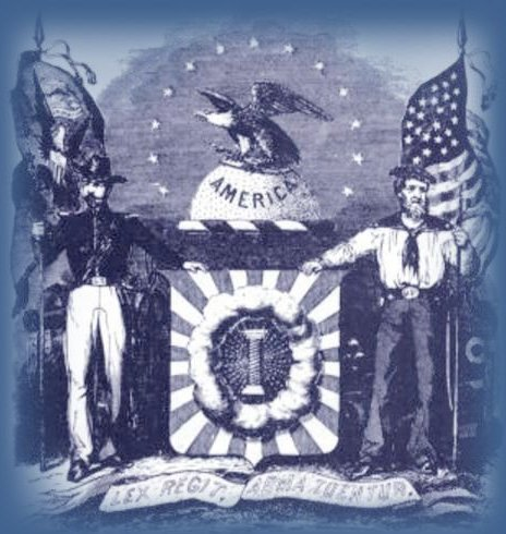 The Crest of the Military Order of the Loyal Legion of the United States