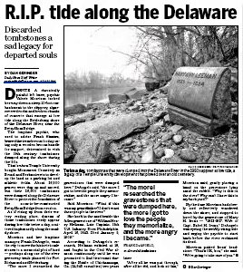 R.I.P. tide along the Delaware River Article