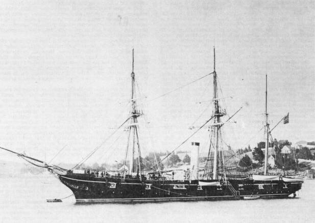 The School Ship USS Adams