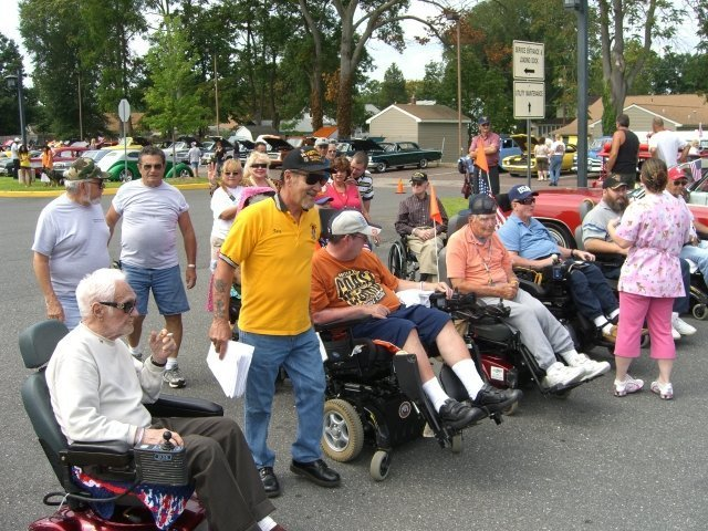 Veterans Wheelchair Races